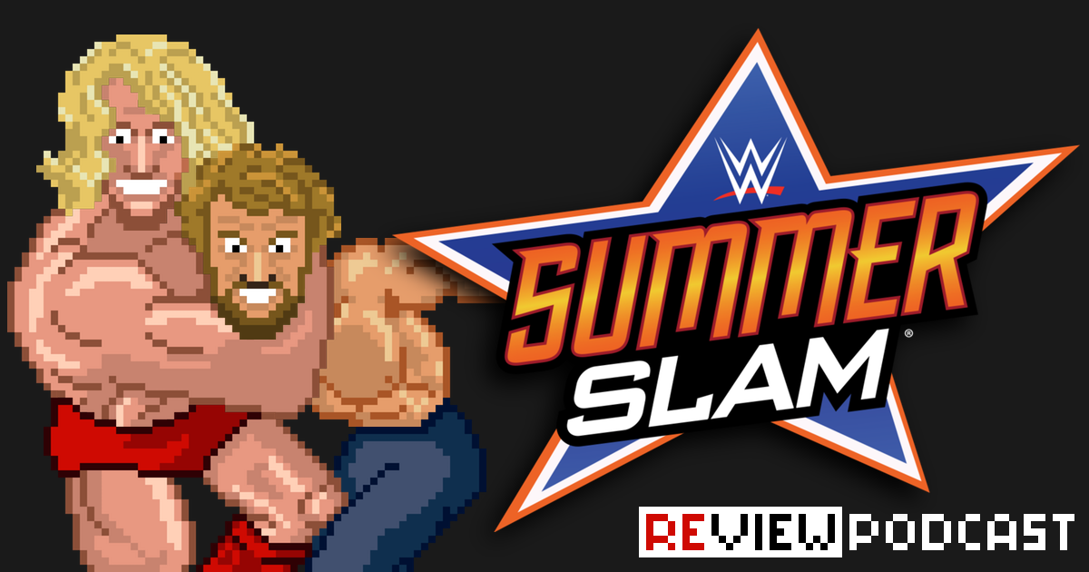 WWE SummerSlam Review Podcast | SCHWITZKASTEN | Pro Wrestling Podcast | www.schwitzcast.de