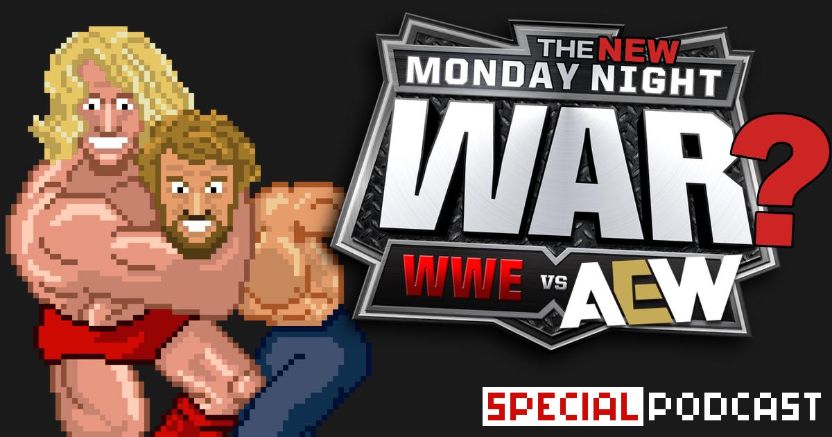 AEW vs. WWE = ein gutes Jahr für Wrestling?! Special Podcast | SCHWITZKASTEN | Pro Wrestling Podcast | www.schwitzcast.de