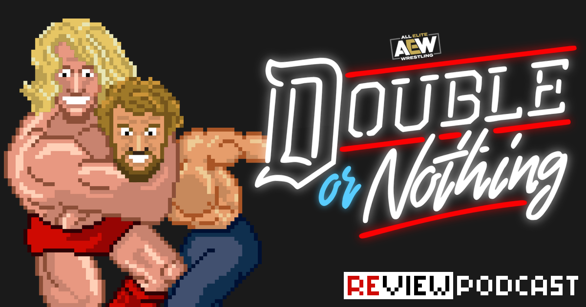 AEW Double or Nothing Review Podcast | SCHWITZKASTEN | Pro Wrestling Podcast | www.schwitzcast.de