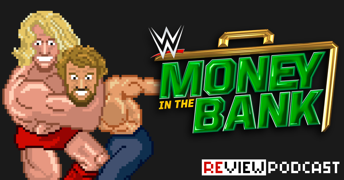 WWE Money in the Bank Review Podcast | SCHWITZKASTEN | Pro Wrestling Podcast | www.schwitzcast.de