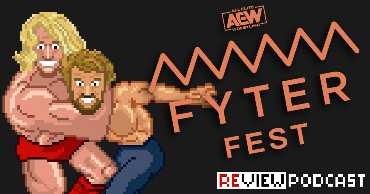 AEW Fyter Fest Review Podcast | SCHWITZKASTEN | Pro Wrestling Podcast | www.schwitzcast.de