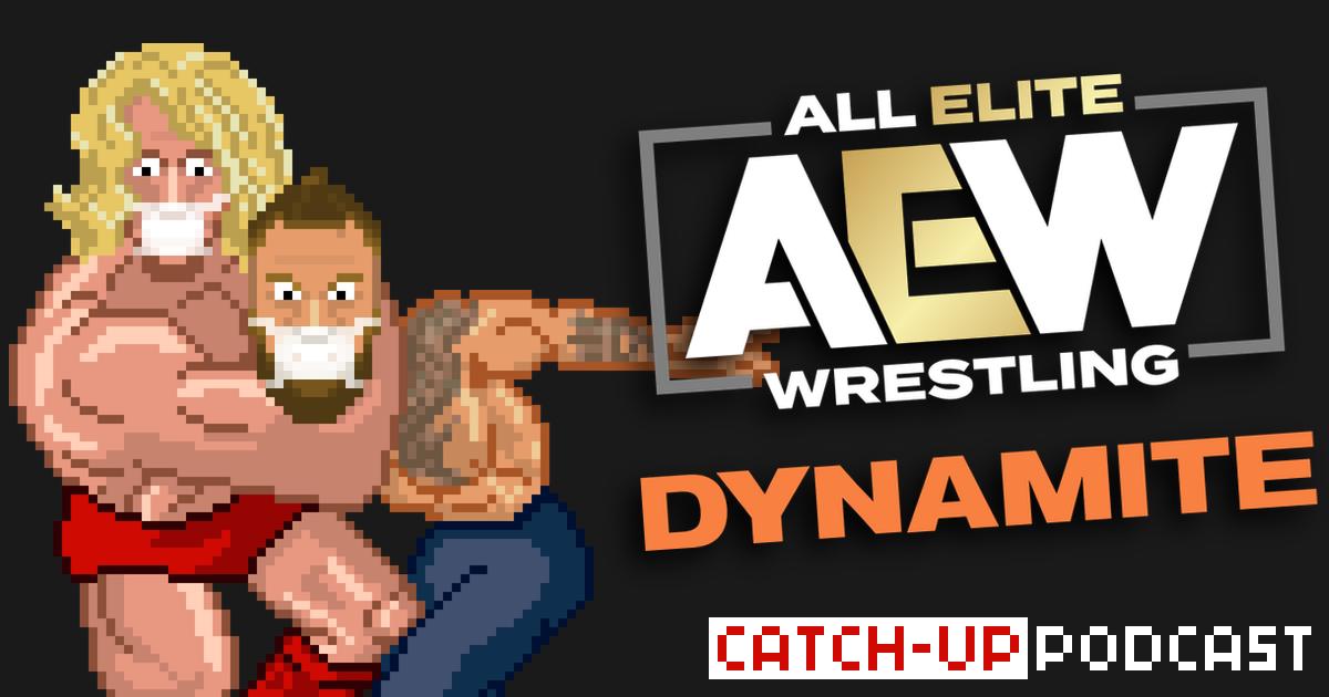 AEW Dynamite Catch-up & Review Podcast | SCHWITZKASTEN | Pro Wrestling Podcast | www.schwitzcast.de