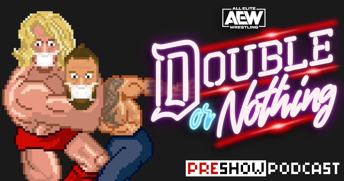 AEW Double or Nothing Preview Podcast | SCHWITZKASTEN | Pro Wrestling Podcast | www.schwitzcast.de