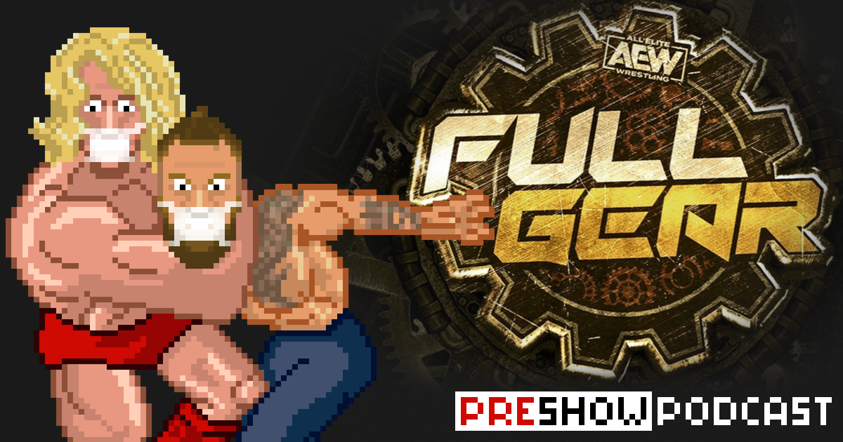 AEW Full Gear Preview Podcast | SCHWITZKASTEN | Pro Wrestling Podcast | www.schwitzcast.de