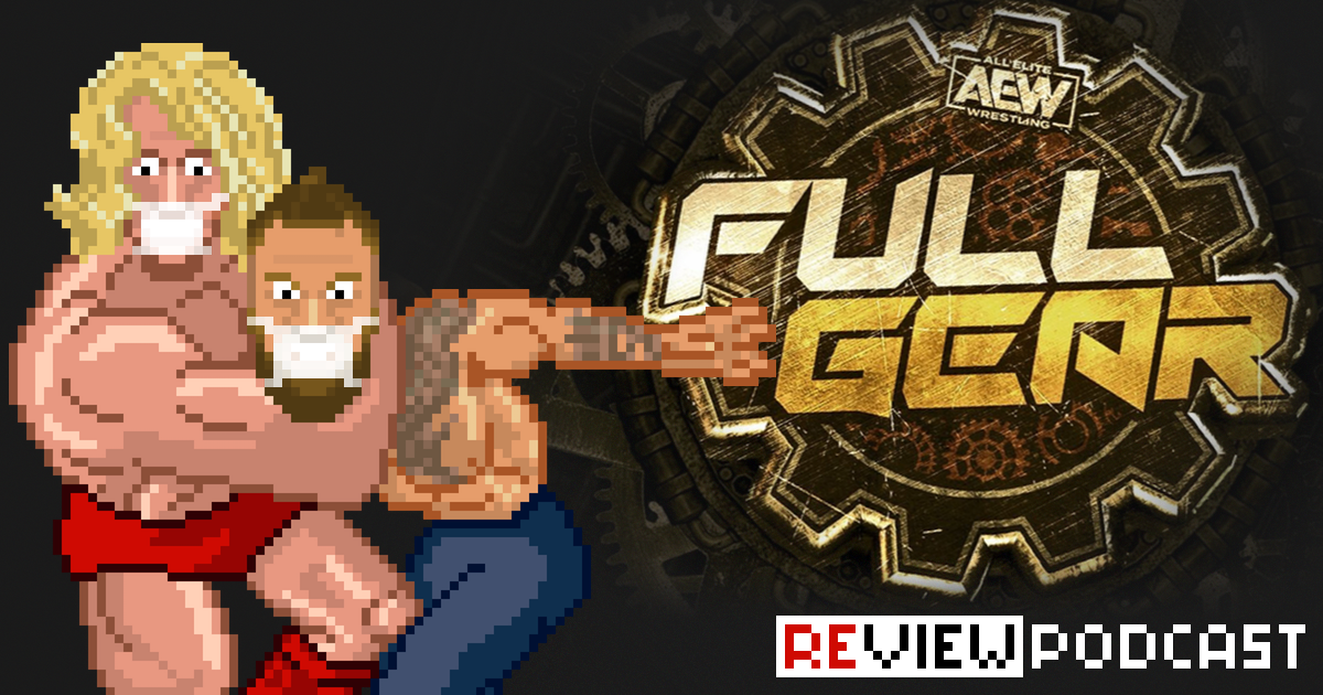 AEW Full Gear Review Podcast | SCHWITZKASTEN | Pro Wrestling Podcast | www.schwitzcast.de