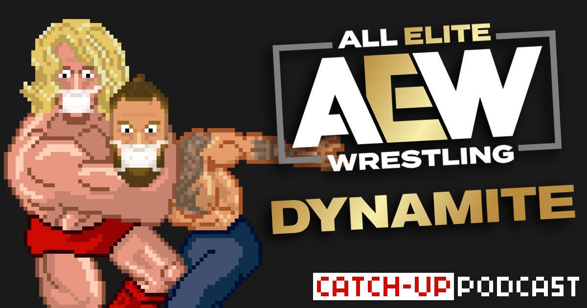 AEW Dynamite Catch-up & Review Podcast   SCHWITZKASTEN   Pro Wrestling Podcast   www.schwitzcast.de