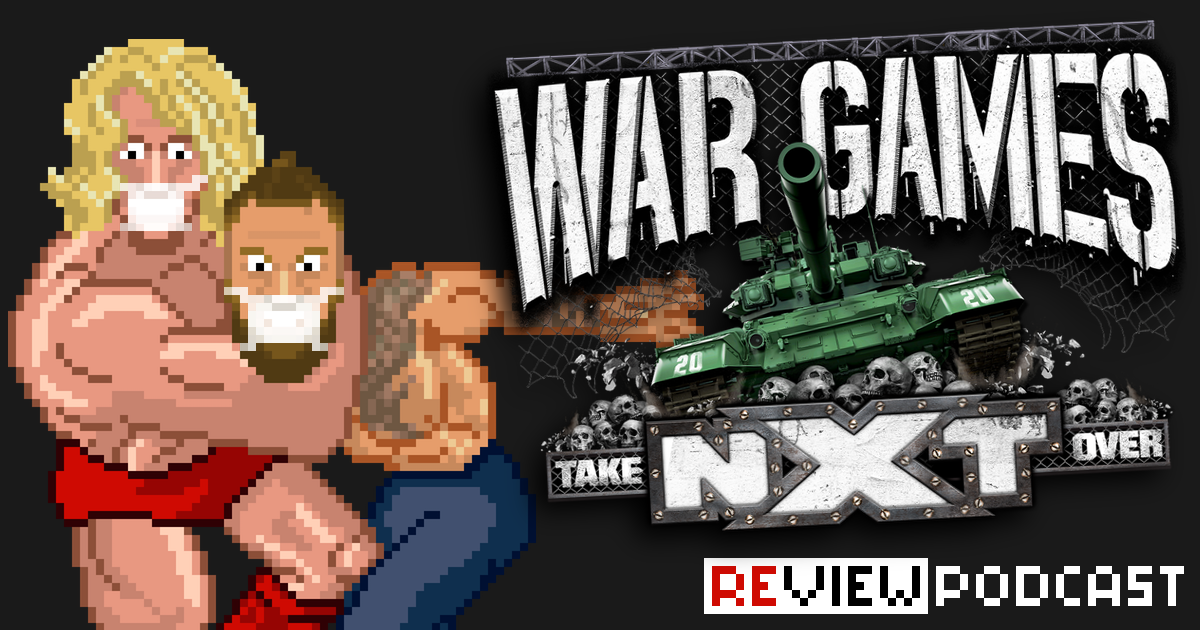 NXT Takeover War Games 2020 Review Podcast | SCHWITZKASTEN Pro Wrestling Podcast | www.schwitzcast.de