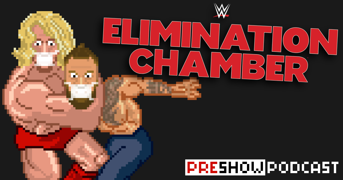 WWE Elimination Chamber a.k.a. No Escape Preview Podcast | SCHWITZKASTEN | Pro Wrestling Podcast | www.schwitzcast.de