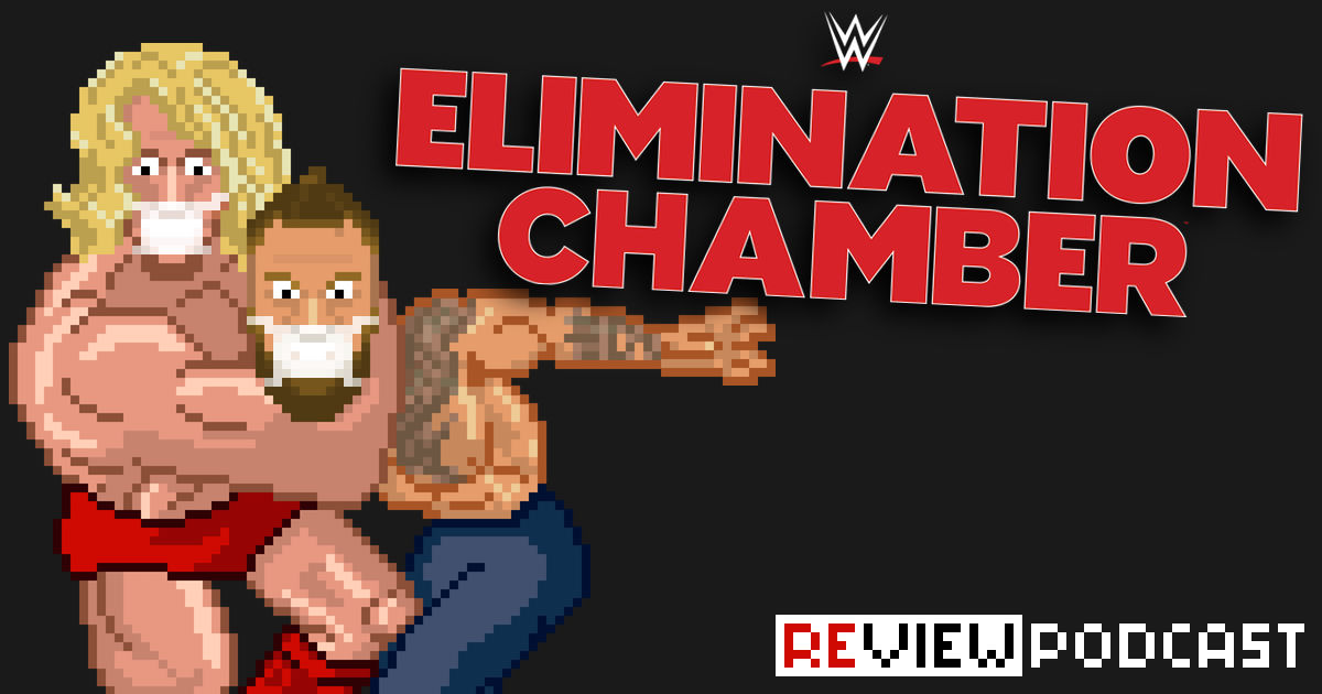 WWE Elimination Chamber a.k.a. No Escape Review Podcast | SCHWITZKASTEN | Pro Wrestling Podcast | www.schwitzcast.de