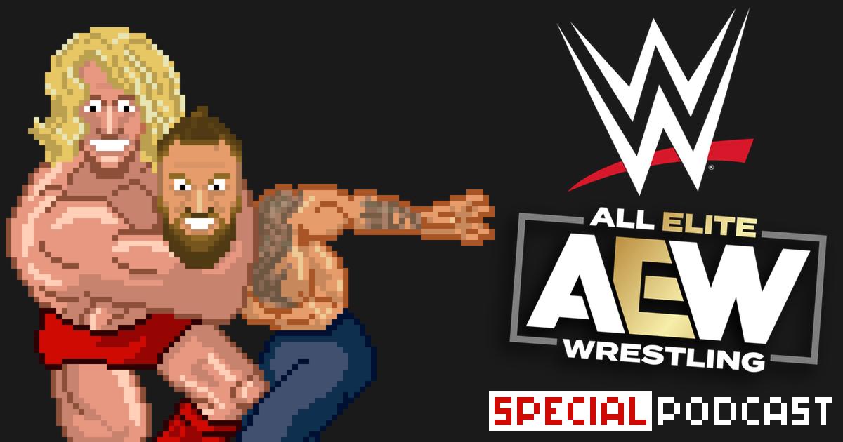 WWE & AEW Special Podcast | SCHWITZKASTEN | Pro Wrestling Podcast | www.schwitzcast.de